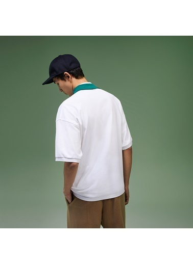 Lacoste Erkek Polo Tişört PH6667.0KR Beyaz